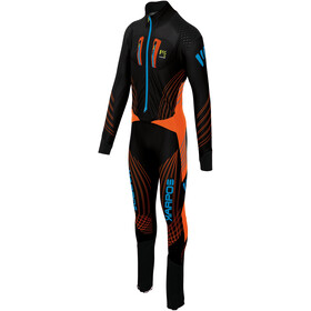 Karpos Race Suit Men tangerine tango/black/dresden blue